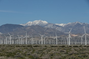 San Gorgino Pass Windpark