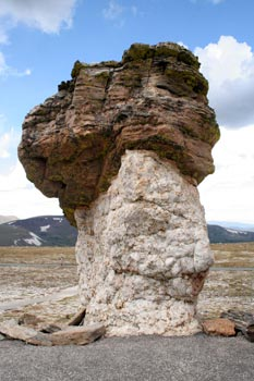 Trail Ridge Road – Rock Cut – Hoodoos