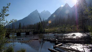 Teton Range am Jenny Lake – Grand Teton National Park
