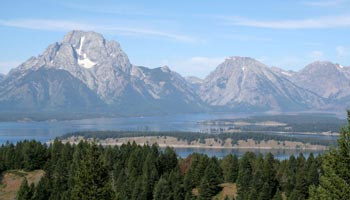 Signal Mountain - Jackson Lake - Teton Range