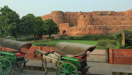 Rotes Fort in Agra - UNESCO Weltkulturerbe