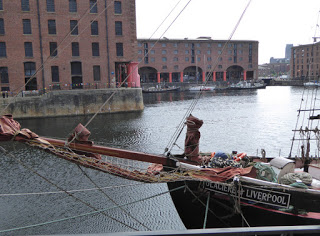 Docks in Liverpool